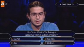 Kim Milyoner Olmak İster'de Beklenen 1 Milyonluk Soru