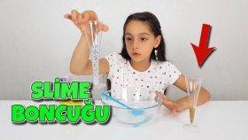 Özel Slime Boncuklarıyla Kırılgan Slime Yaptık | Slime Deneyi