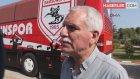 Teknik Direktör Alpay Özalan, Takımı Takip Eden Gazeteciler İçin Şerit Çektirdi