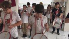Bando Ritim Kalıpları Bas Yürüyüşü Trampette Nasıl Çalınır Yürüyüş Bando Takımı Hazırlıkları
