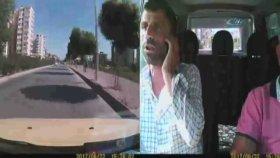 Hareket Halindeki Otobüsün Şoförüne Saldırı