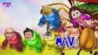 Momo Kuzucuk Doru Ve Keloğlan Renkleri Öğrenmek İçin Gorile Dönüşüyor.