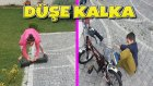 Sitenin İçinde Düşe Kalka Bisiklet ve Hoverboard Kullanmak !!