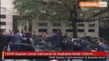 TBMM Başkanı İsmail Kahraman ile Başbakan Binali Yıldırım Görüştü