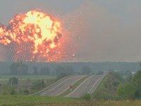 Cephanelik Patlaması - Ukrayna