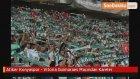 Atiker Konyaspor - Vitoria Guimaraes Maçından Kareler