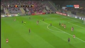 Braga 2-1 Medipol Başakşehir (Maç Özeti - 28 Eylül 2017)