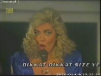 Ahu Tuğba - Göbek Dansı ve You Keep Me Hangin On (1991 - Star1 tv)