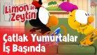 Limon ile Zeytin - Yepyeni Sahneler - Çatlak Yumurtalar İş Başında | Çizgi Film