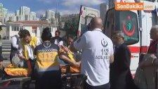 Bahçeşehir'deki Otobüs Kazası Kamerada