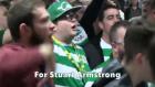 Celtic taraftarından Armstrong'a beste!