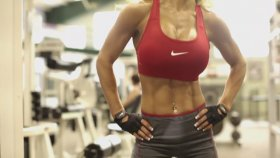 "Pazı ve Güzellik"" Fitness Kız Motivasyon."