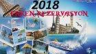 2018 Erken rezervasyon Otelleri