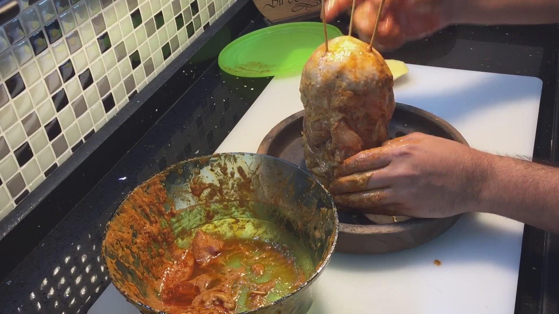 Evde Tavuk Döner Dürüm Videosu