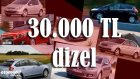 30.000 Tl'ye Hangi Dizel Otomobil?