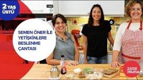 Semen Öner ile Büyükler için Beslenme Çantası - Körili Tavuk Sandviç | İki Anne Bir Mutfak