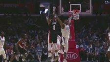 Damian Lillard'dan Clippers'a Karşı 35 Sayı