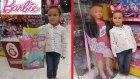 OYUNEVİNDE KÖREBE , özdilek avm Locopoco da DEV BARBİE alışverişi, eğlenceli çocuk videosu