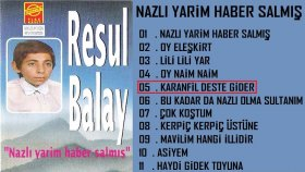 Resul Balay - Karanfil Deste Gider