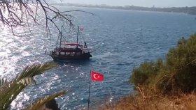 Yat Gezintisinden İlginç Görüntüler Antalya 2017