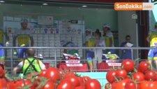 53. Cumhurbaşkanlığı Bisiklet Turu - Kumluca-Fethiye Etabı Başladı