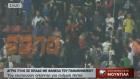 Olympiakos'un Sahasına Panathinaikos Formasıyla Giren Taraftar!