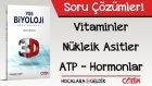 3D Soru Bankası - Vitaminler / Nükleik Asitler / ATP / Hormonlar Soru Çözümleri