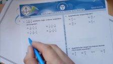5. Sınıf Matematik Kesirler Kazanım 9.Test