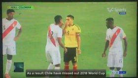Kolombiya - Peru Maçında Göstere Göstere Şike Yapılması