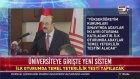 YÖK Başkanı Yekta Saraç Üniversiteye Giriş Sınavındaki Yeni Sistemi Açıkladı