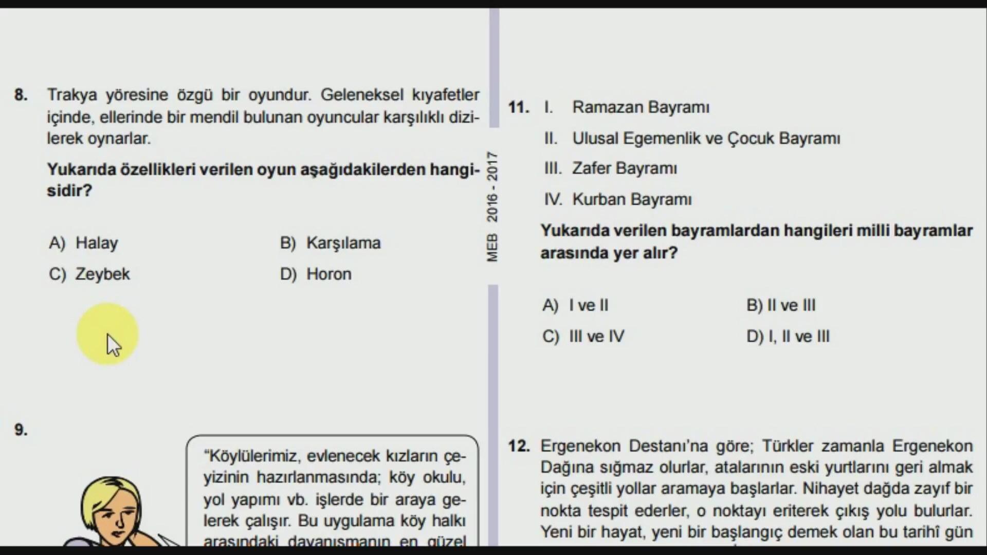 SOSYAL BİR ÇİFT MİSİNİZ (TEST)