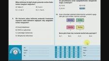8.sınıf Fen Bilimleri Kazanım Testi 4 (Mitoz 2)