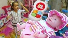 Elif Lala Bebek Ve Chi Chi Love Köpekcikle Oynuyor,lala Bebek Hasta Doktora Gidiyorlar