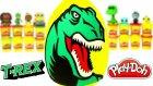 Dinozor T Rex Sürpriz Yumurta Oyun Hamuru Play Doh - Slime Oyuncak Yumurta