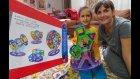 MIKNATISLI 3 BOYUTLU PUZZLE, MAGNETİK 3D PUZZLE, mıknatıslarla dönme dolap yaptık, oyuncak toys