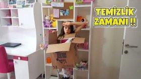 Annemle Odamı Temizleyip Toparlıyoruz !! Oda Vlog