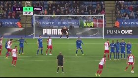 Leicester 1-1 West Bromwich Albion (Maç Özeti - 16 Ekim 2017)