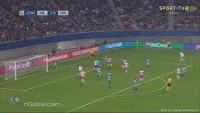 Aboubakar'ın RB Leipzig'e attığı gol