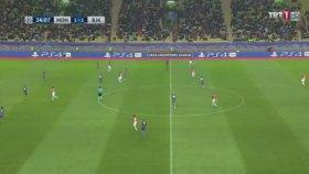 Monaco 1-1 Beşiktaş (Dk: 34 Gol Cenk Tosun)