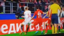 Simon Kjaer'in Spartak Moskova'ya attığı gol