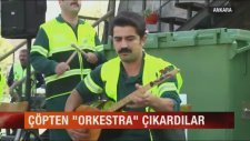 Çankaya Belediyesinin Çöpten Orkestra Çıkarması
