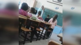 D Harfini Yazamayan Öğrenciye Öğretmenden Dayak