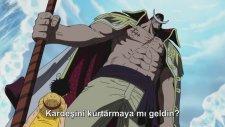 Luffy Beyaz Sakala Kafa Tutar