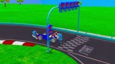 Zeem Zoom  Araba yarışı! - Baby Wheels Race