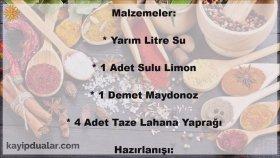 Göbek Yağı Eritme Kürü - İbrahim Saraçoğlu