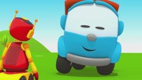 Kamyon Leo  Robotlara Treyler Yapıyor! - Leo 65 Trailer Corrected 2
