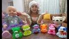 Pastacı kız Lala bebeğe İngilizce Rusça ve Türkçe kelimeler öğretiyor.Learn colours with cat dog