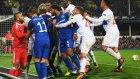 Everton - Lyon maçında kavga çıktı