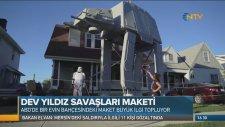 Evinin Bahçesine Star Wars Maketi Yaptı