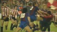 Maradona'nın Hafızalardan Çıkmayan Kavgası